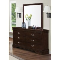 LOUIS PHILIPPE COLLECTION - Louis Philippe Square Dresser Mirror