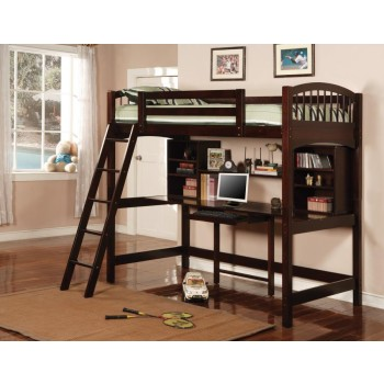 PERRIS COLLECTION - Perris Twin Workstation Loft
