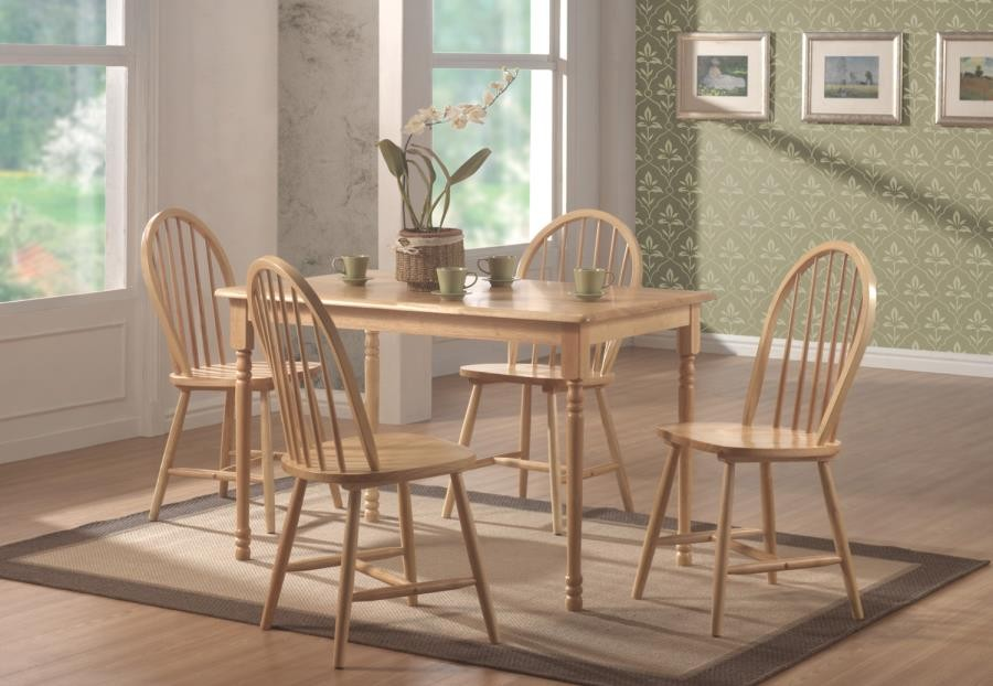 DINETTES: WOOD - DINING TABLE