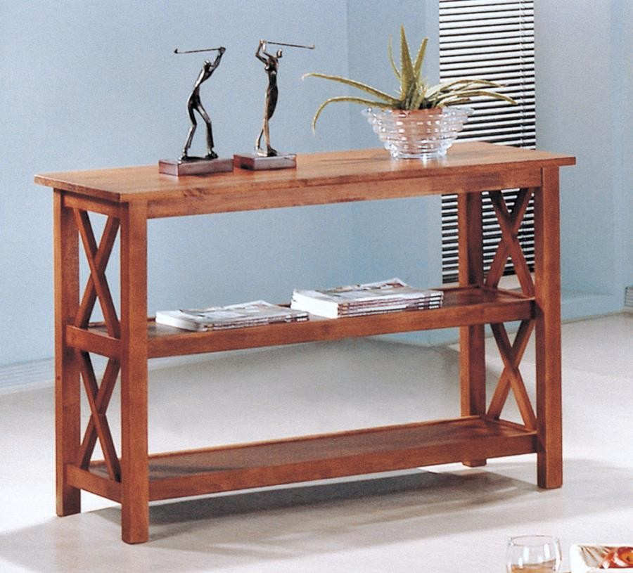 LIVING ROOM : OCCASIONAL SETS - SOFA TABLE