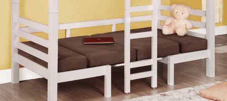 TWIN/TWIN CONVERTIBLE LOFT BED - BUNK BED