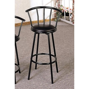 REC ROOM/ BAR TABLES: RUSTIC/INDUSTRIAL - BAR STOOL (Pack of 2)