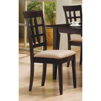 GABRIEL COLLECTION - Gabriel Cappuccino Dining Chair (Pack of 2)