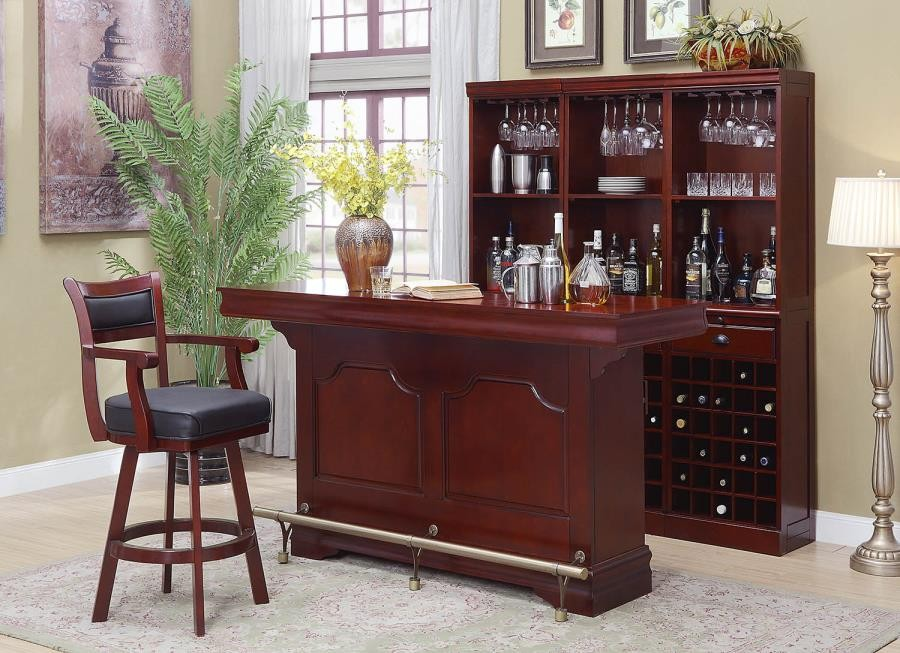 Bar Units Traditional Transitional Bar Unit 3078