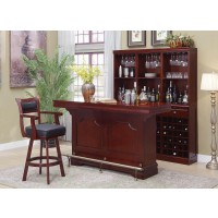 BAR UNITS: TRADITIONAL/TRANSITIONAL - Traditional Cherry Bar Unit