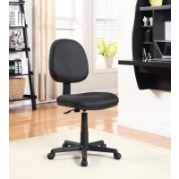 HOME OFFICE : CHAIRS - Casual Black Office Chair With Wheels