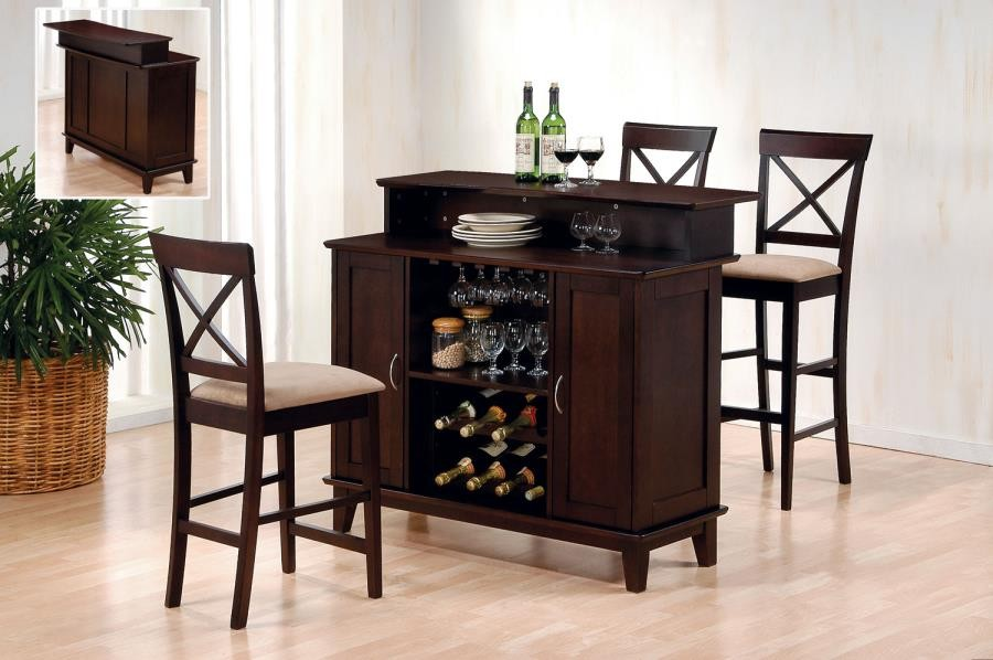 BAR UNITS: TRADITIONAL/TRANSITIONAL - Transitional Cappuccino Bar Unit