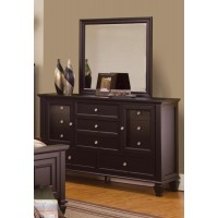 SANDY BEACH COLLECTION - Sandy Beach Cappuccino Eleven-Drawer Dresser