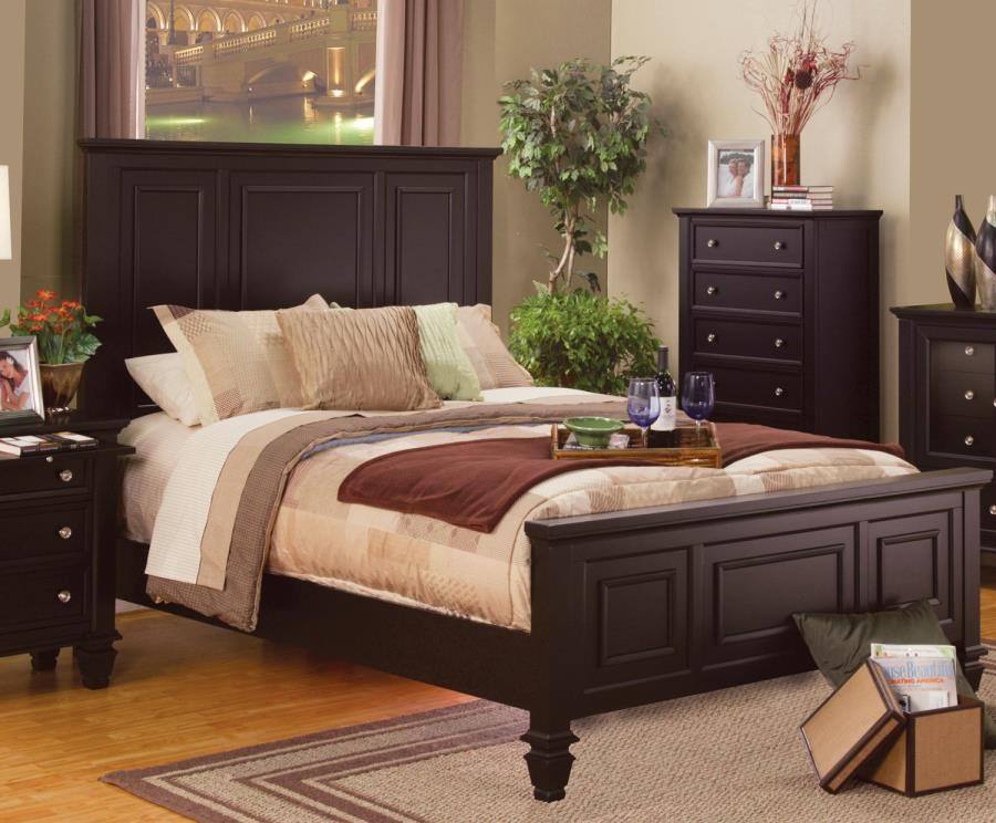 SANDY BEACH COLLECTION - Sandy Beach Cappuccino Eastern King Bed