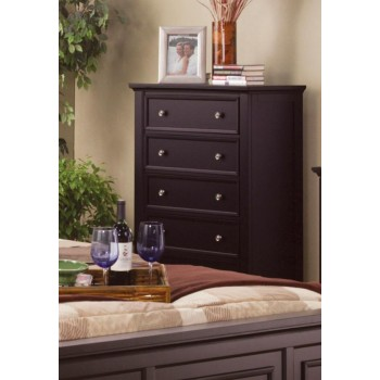 SANDY BEACH COLLECTION - Sandy Beach Cappuccino Five-Drawer Chest
