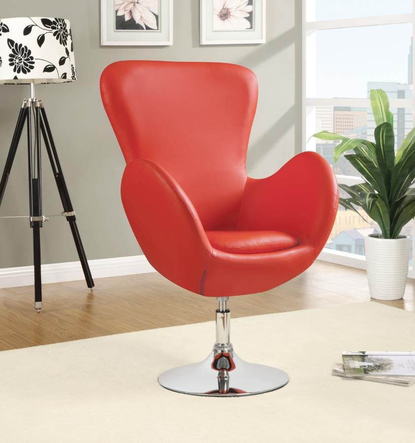 Amazing Accents Chairs Contemporary Red Swivel Accent Chair Ibusinesslaw Wood Chair Design Ideas Ibusinesslaworg