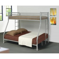 Denley Bunk Beds - Denley Metal Twin-over-Full Bunk Bed