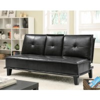 LIVING ROOM : SOFA BEDS - Contemporary Black Sofa Bed