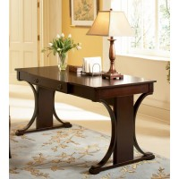 MEADOW COLLECTION - Transitional Red Brown Writing Desk