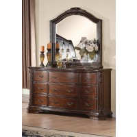 MADDISON COLLECTION - Maddison Traditional Nine-Drawer Dresser