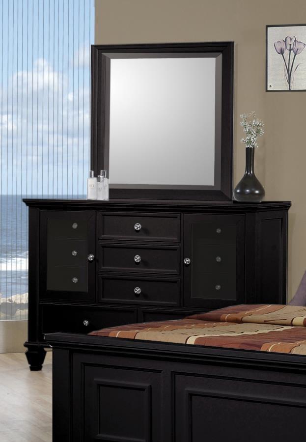 SANDY BEACH COLLECTION - Sandy Beach Black 11-Drawer Dresser