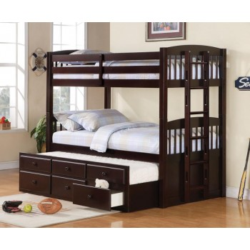 KENSINGTON BUNK BED - Kensington Cappuccino Bunk Bed