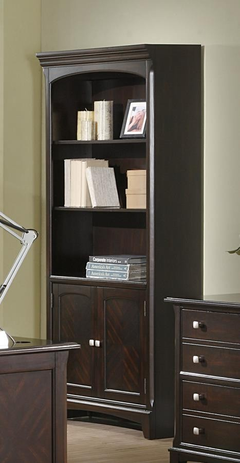 GARSON COLLECTION - Garson Cappuccino Bookcase