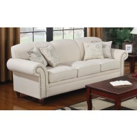 NORAH COLLECTION - Norah Traditional Oatmeal Sofa