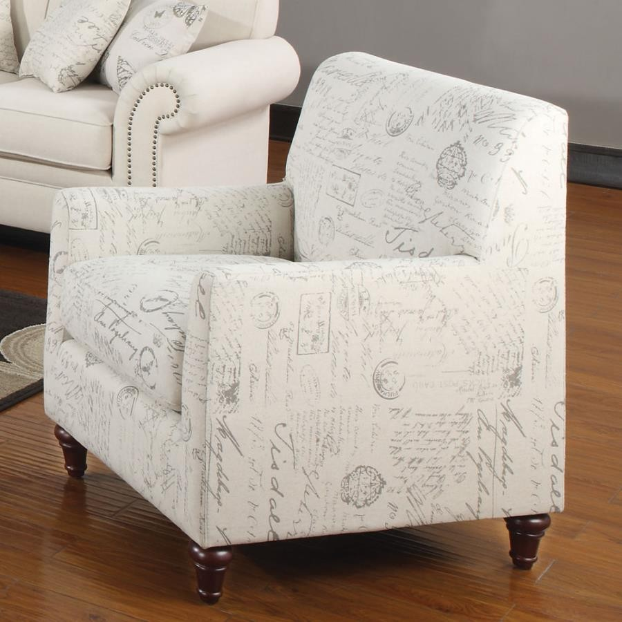 NORAH COLLECTION - Norah Traditional Oatmeal Chair