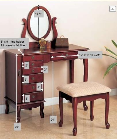 vanity set 300073 bedroom vanities price busters 13719 | vanity set 2