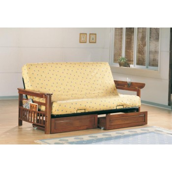 LIVING ROOM : FUTON FRAMES - Traditional Oak Futon Frame