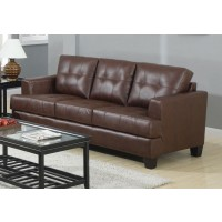 SAMUEL COLLECTION - Samuel Transitional Dark Brown Sofa