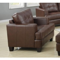 SAMUEL COLLECTION - Samuel Transitional Dark Brown Chair