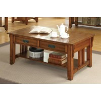COLTON COLLECTION - Occasional Traditional Oak Coffee Table