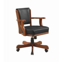 MITCHELL GAME TABLE - Mitchell Traditional Merlot Game Chair