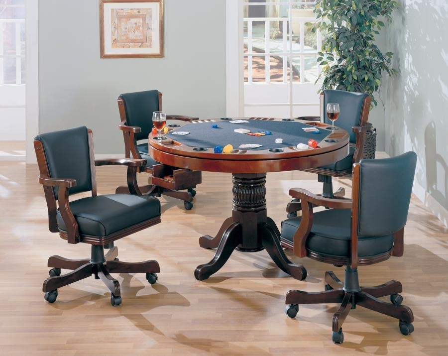 MITCHELL GAME TABLE - Mitchell Three-In-One Game Table