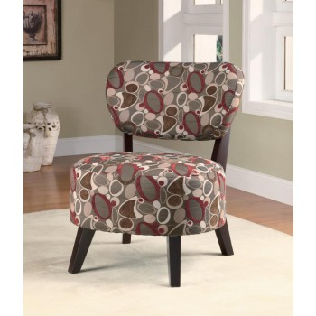 ACCENTS : CHAIRS - Casual Upholstered Accent Chair