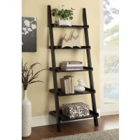 COLELLA COLLECTION - Transitional Cappuccino Bookcase