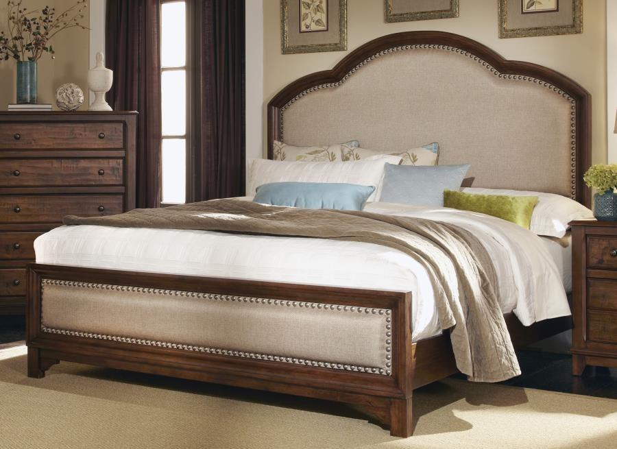 laughton collection eastern king bed 203261ke complete bed sets price busters furniture. Black Bedroom Furniture Sets. Home Design Ideas