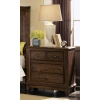 Laughton Collection - Laughton Rustic Two-Drawer Nightstand