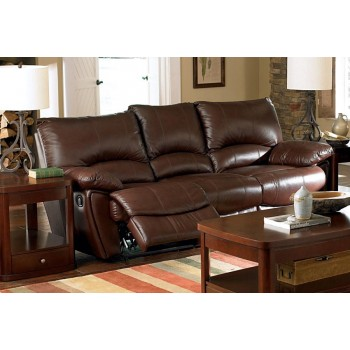 CLIFFORD MOTION COLLECTION - Clifford Motion Dark Brown Sofa