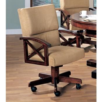 MARIETTA GAME TABLE - Marietta Casual Tobacco Game Chair
