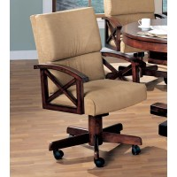 MARIETTA GAME TABLE - Marietta Casual Tobacco Game Chair