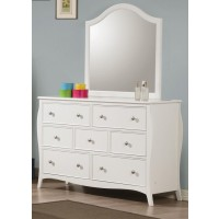 DOMINIQUE COLLECTION - Dominique French Country White Dresser