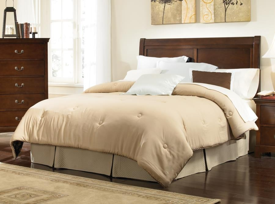 Tatiana Collection - Tatiana Warm Brown King Headboard