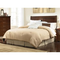 Tatiana Collection - Tatiana Traditional Warm Brown Headboard