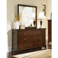 Tatiana Collection - Tatiana Square Dresser Mirror