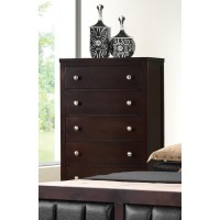 Carlton Collection  - Carlton Cappuccino Five-Drawer Chest