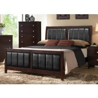 Carlton Collection  - Carlton Transitional Cappuccino California King Bed