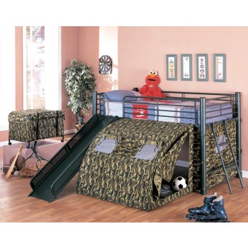 CAMOUFLAGE LOFT BED - BUNK BED