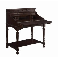 MILO COLLECTION - Warm Brown Secretary Desk