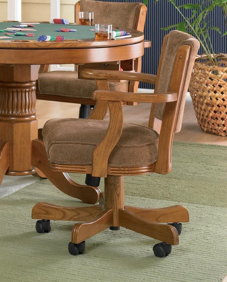 MITCHELL GAME TABLE - Mitchell Amber Game Chair