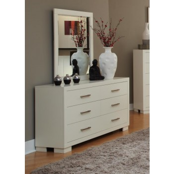 JESSICA COLLECTION - Jessica Contemporary Six-Drawer Dresser