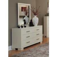 JESSICA COLLECTION - Jessica White Dresser Mirror