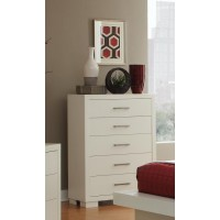 JESSICA COLLECTION - Jessica Contemporary Five-Drawer Chest
